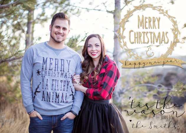 Smith Christmas Card 2014 Front