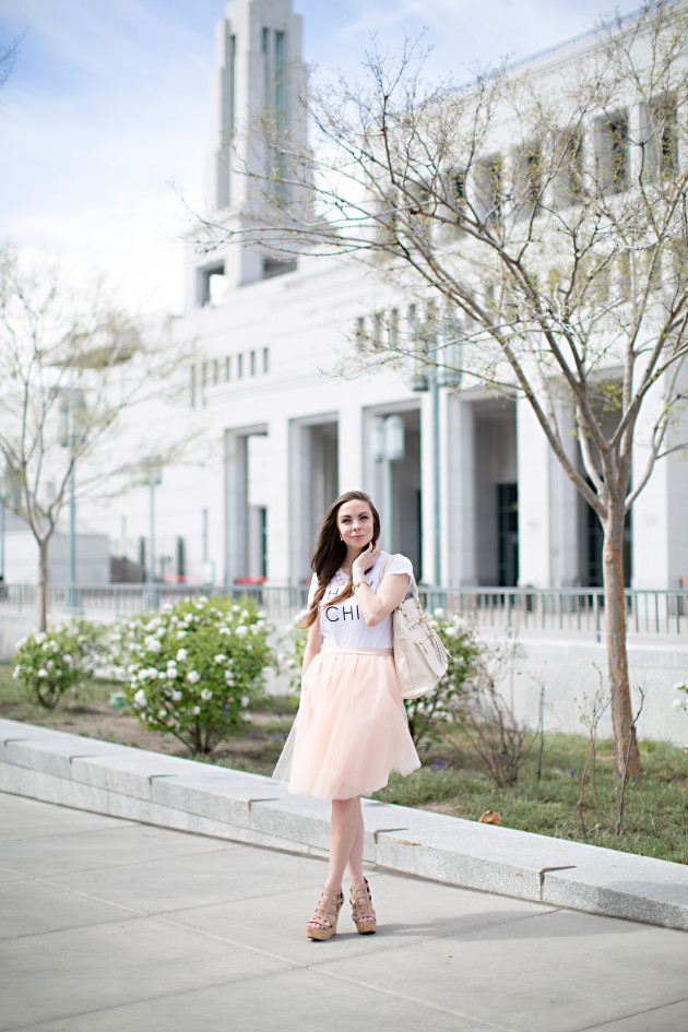 General Conference for the Church of Jesus Christ of Latter-day Saints with Lovely Deseret and Modest Style