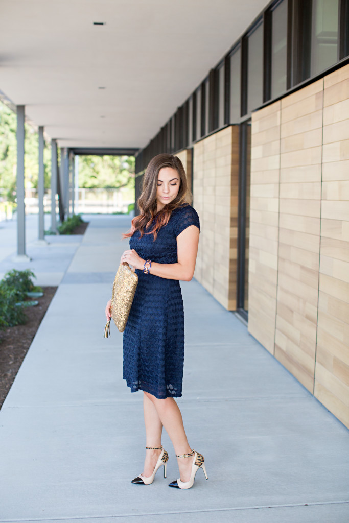 Navy Navy Quite Contrary A Modest Navy Dress For Every