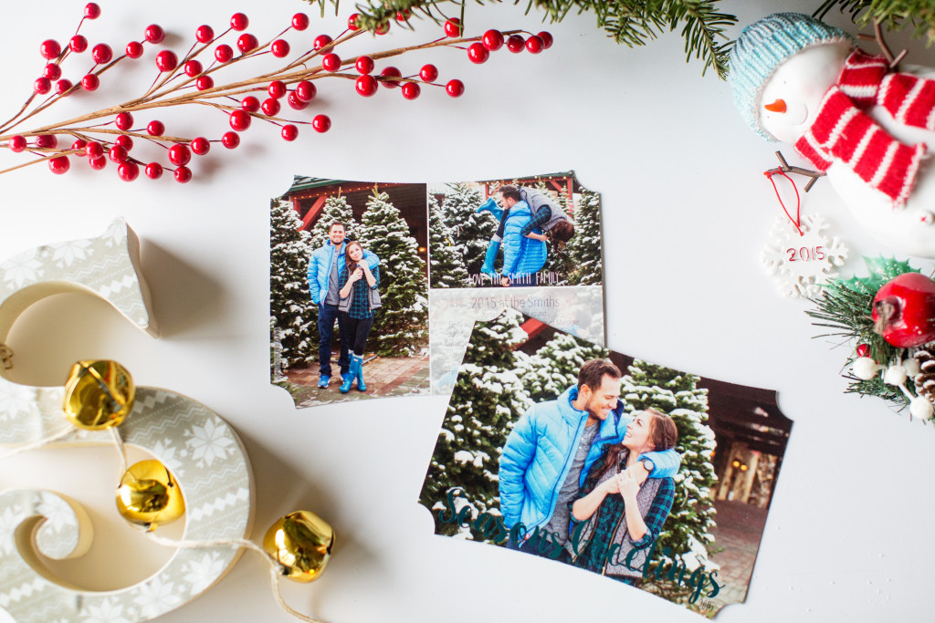 Adorable Christmas Cards with Pro Digital Photos - Modest Goddess