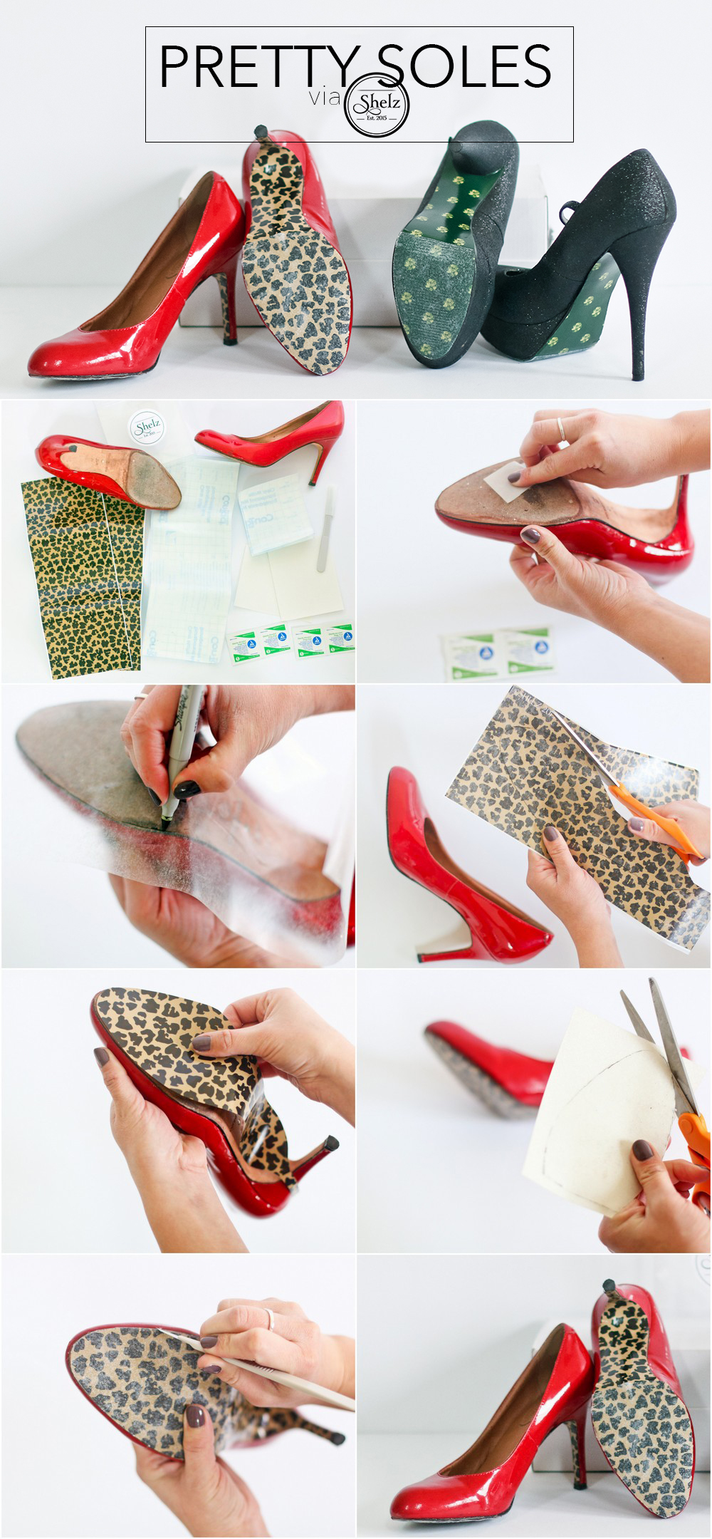 """Your Beautiful Sole"" Shelz Patterned Shoe Wraps"
