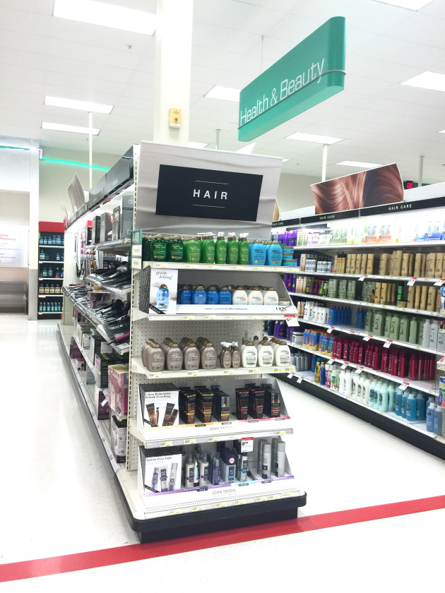 The Brilliant Brunette® Visibly Deeper™ line at Target.