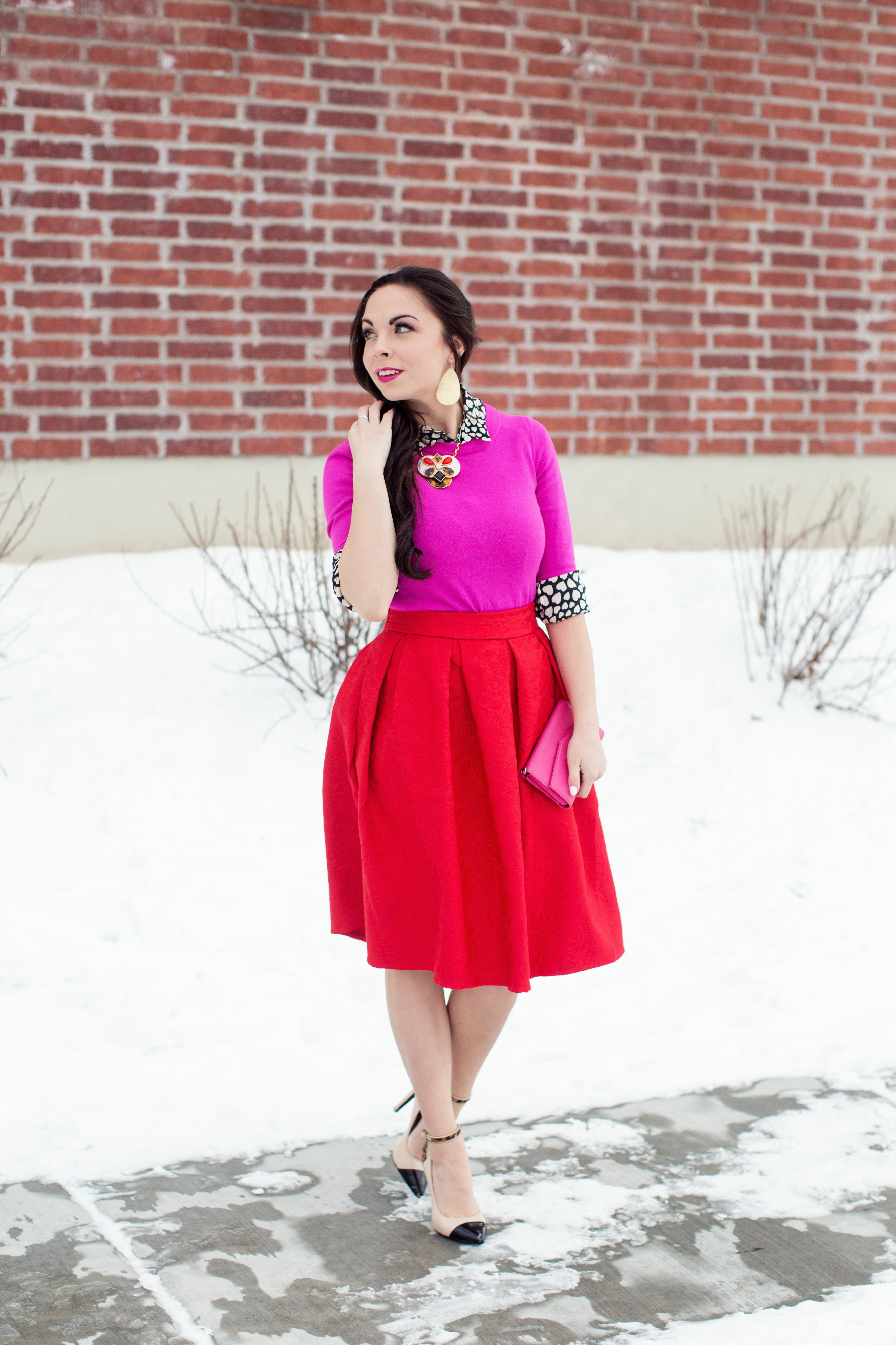 Quot Queen Of Hearts Quot Kate Spade Inspired Modest Valentine S Day Look Modest Goddess