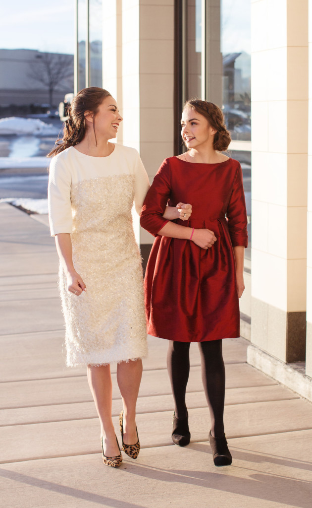 Modest Burgundy Winter Party Dress By K Couture Featured On Fashion Blog Dess