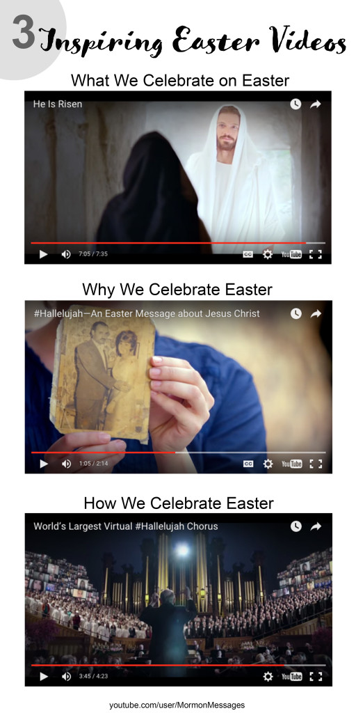 3 Inspiring Easter Videos produced by the Church of Jesus Christ of Latter-Day Saints