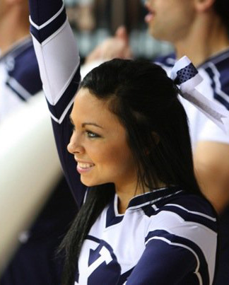 BYU Cheerleader