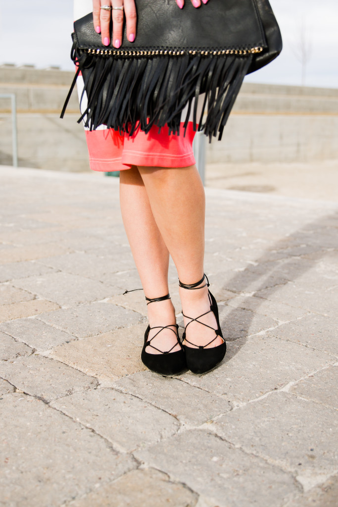 DIY Lace-up Flats