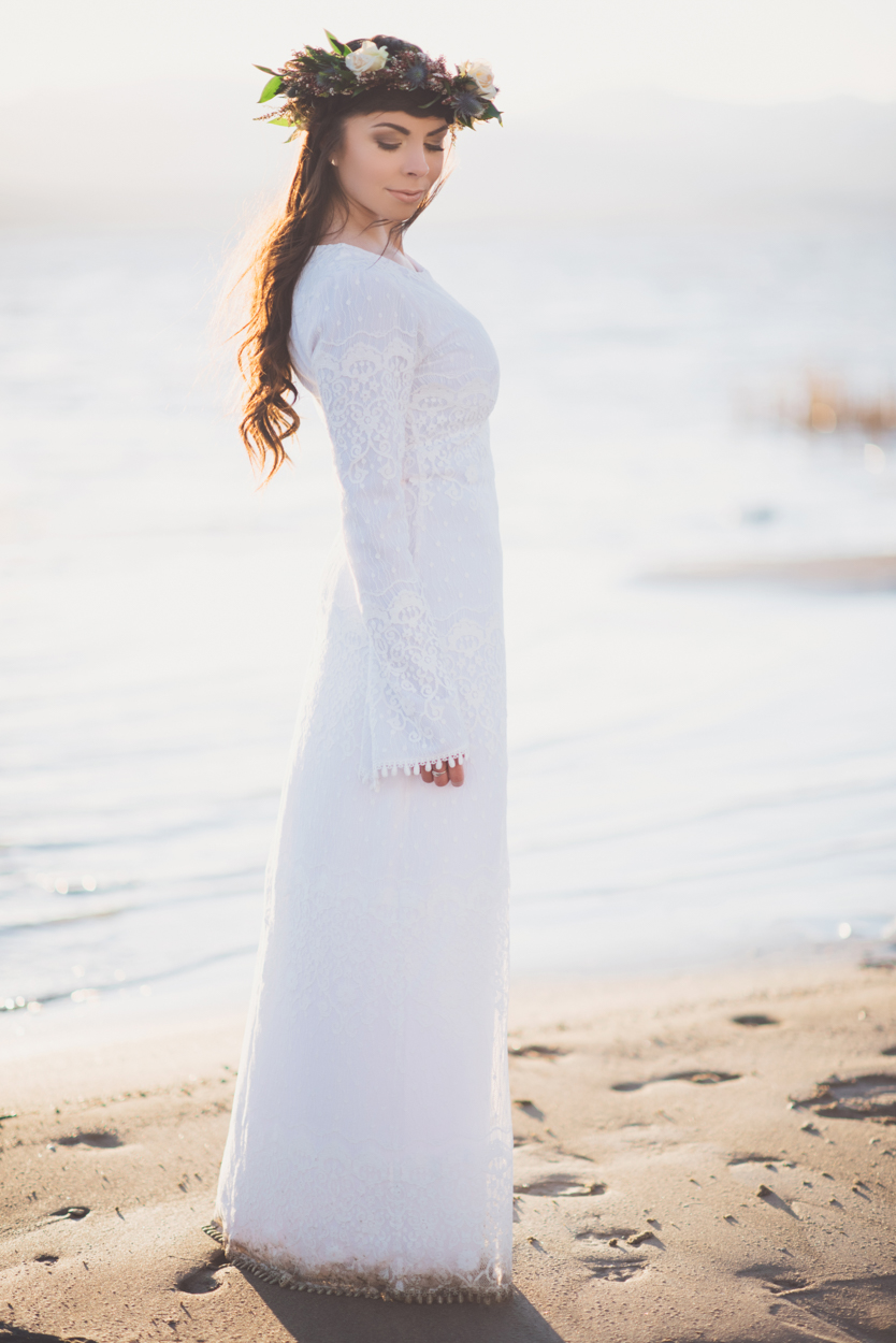 Quot My Four White Dresses Quot House Of Order Temple Dress Modest Goddess