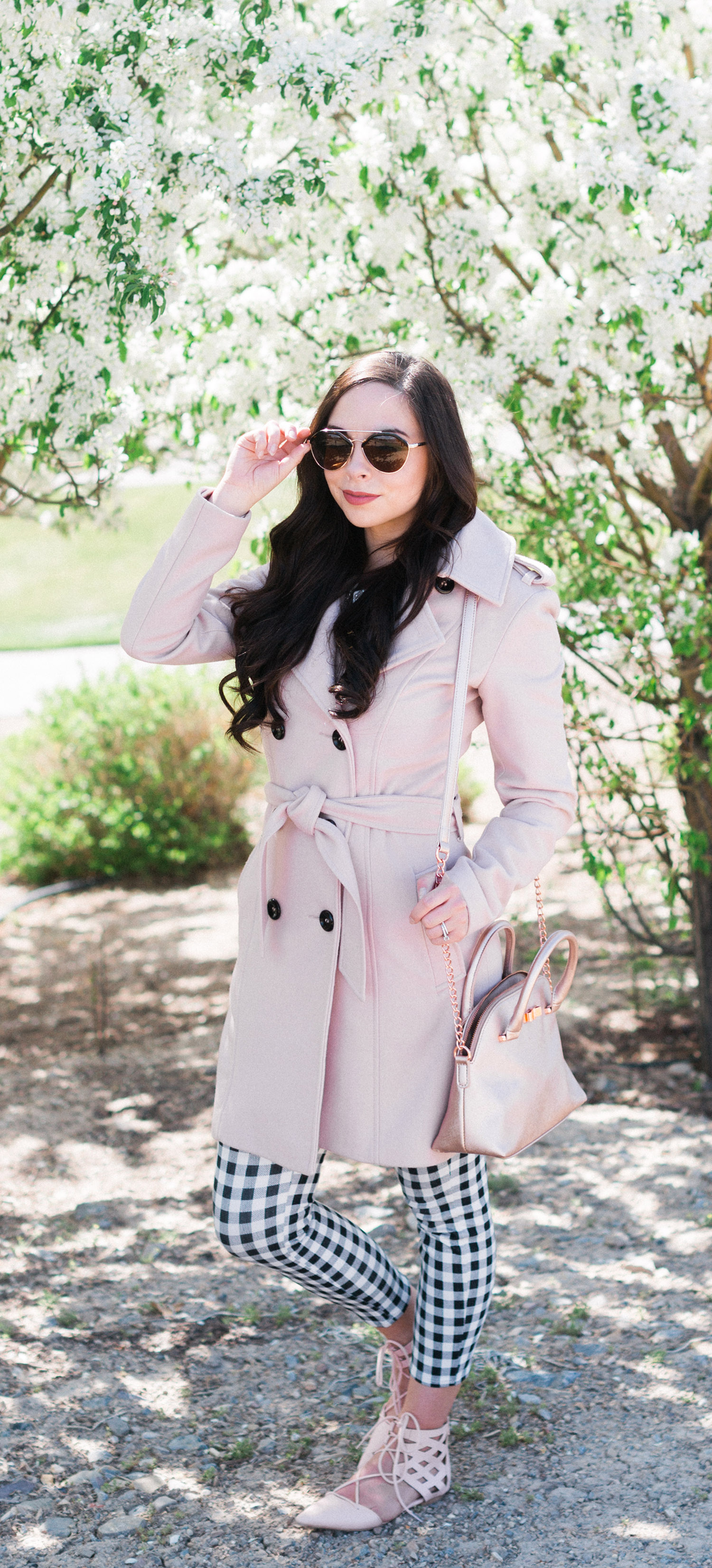 """Blushing Blossoms"" Blush Modest Spring Outfit"