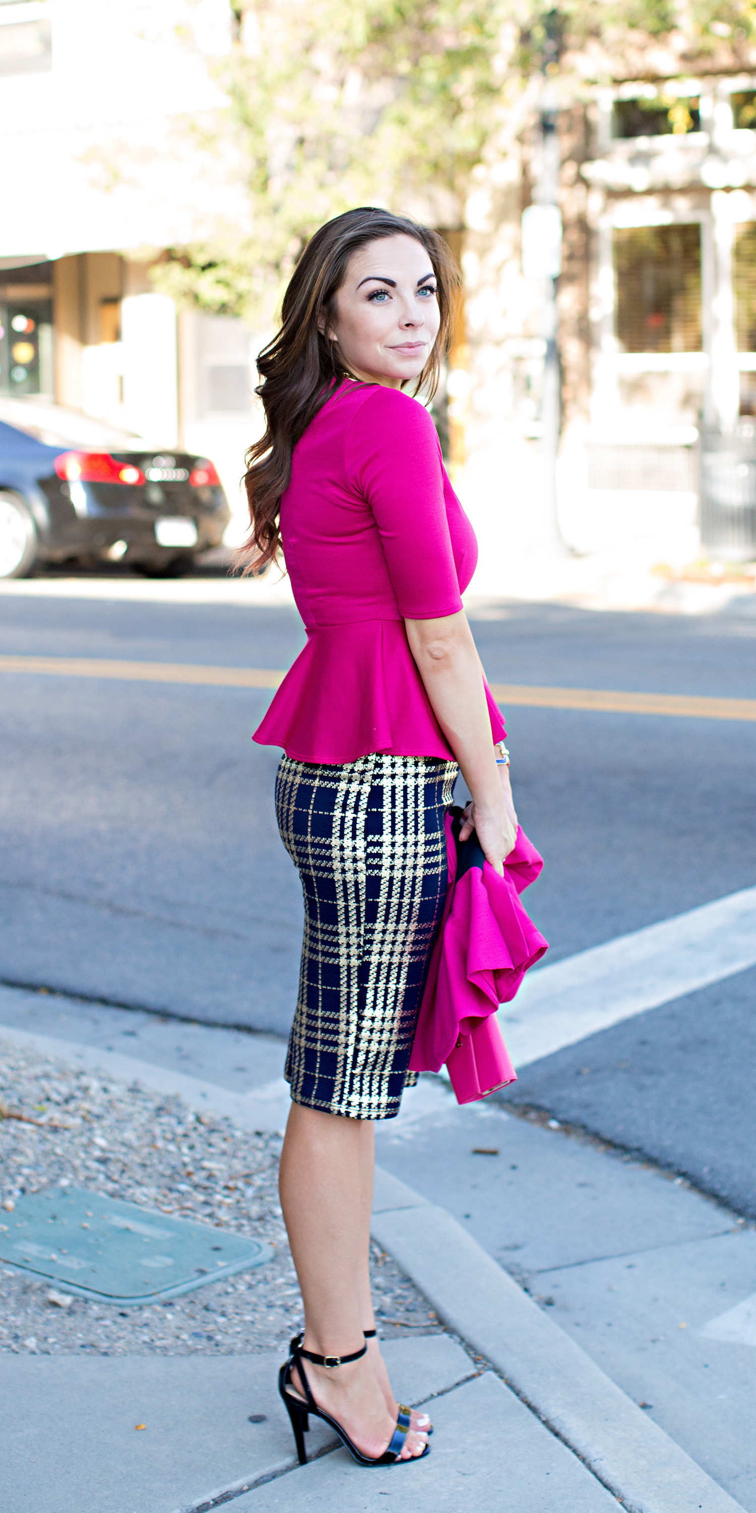 """Mindy Kaling Inspired Outfit"" How to Wear Pink to the Office like a Boss"