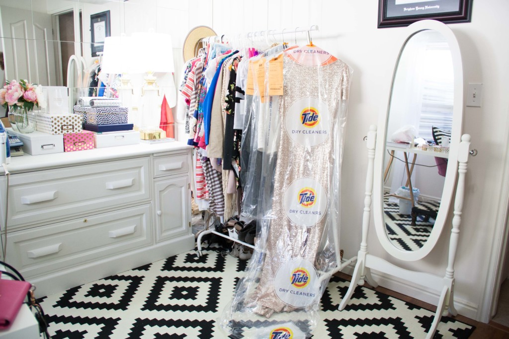 Fashion blogger gives a Tide Dry Cleaning Review