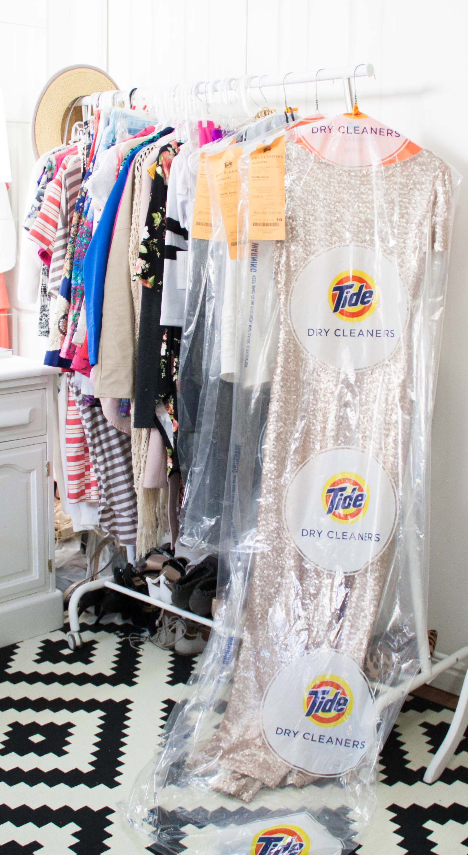 Tide Dry Cleaners Review & Giveaway!