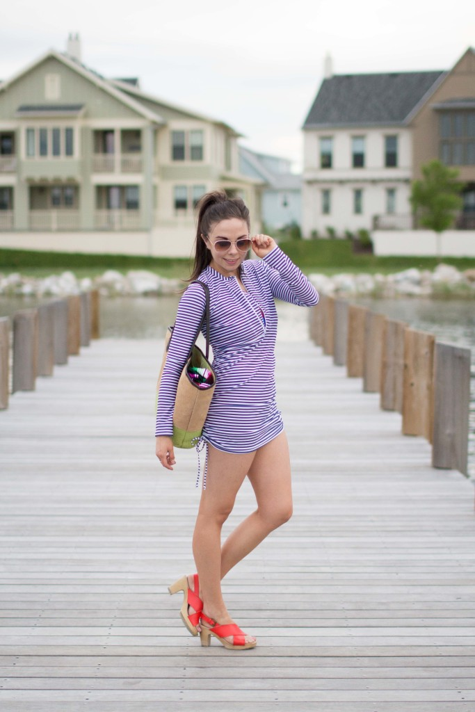 SPF 50 Swimzip coverup.