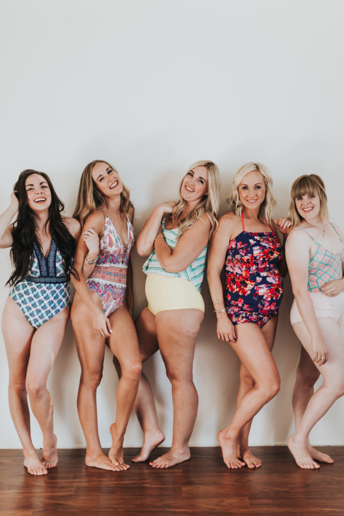 Bloggers redefining swimsuit ready. Body positivity.