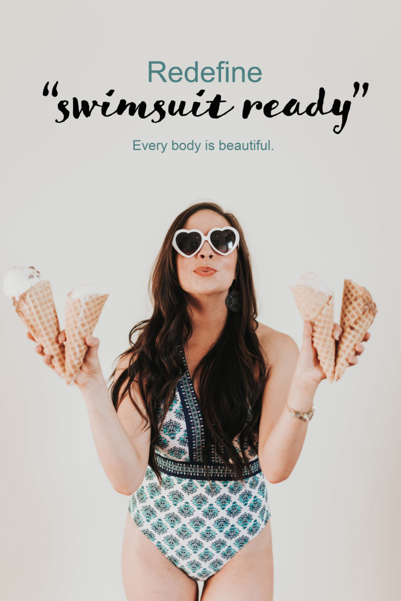 """Redefine Swimsuit Ready"" Happy Thoughts & Cute Modest Swimsuits"