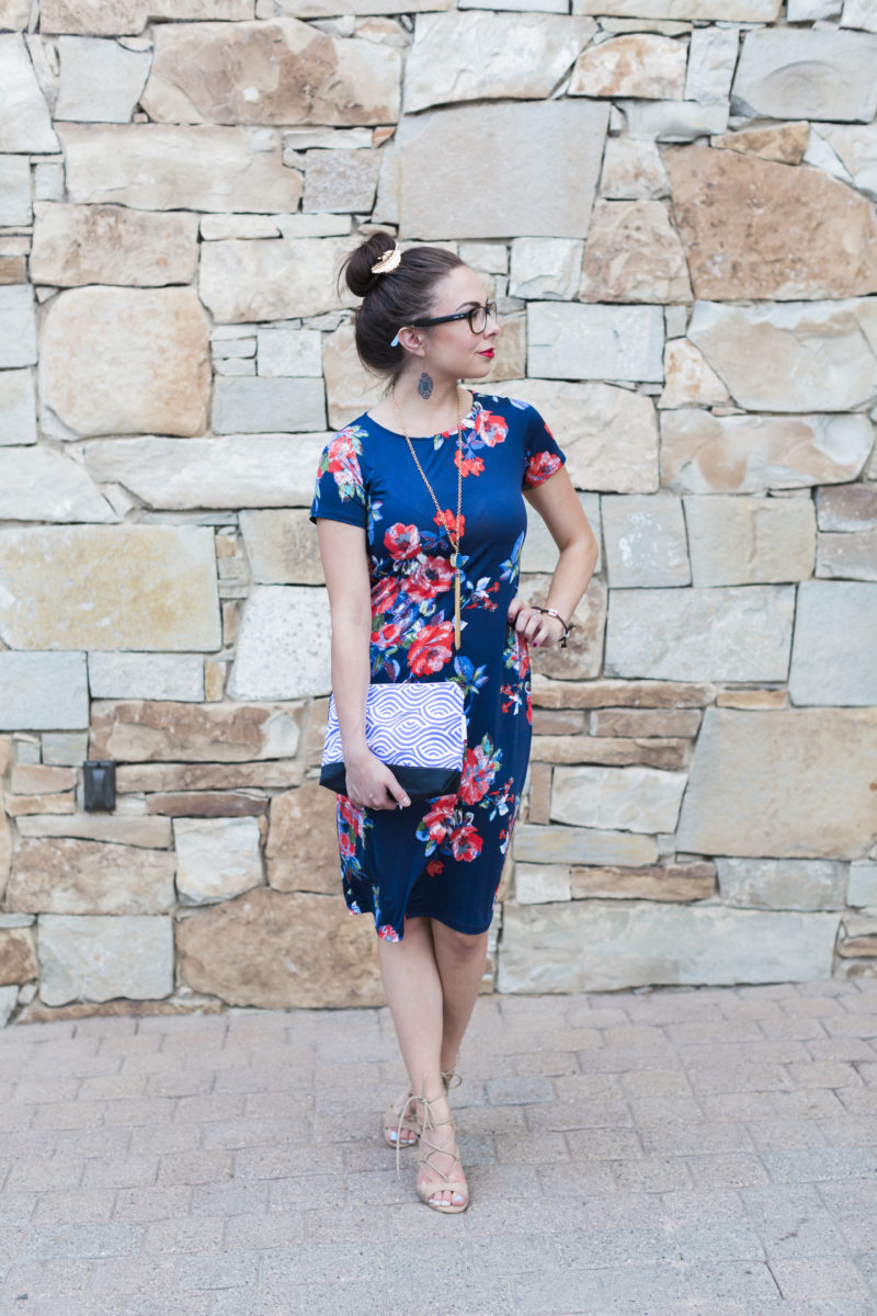 """Cute with a Cause"" Modest Floral Work Dress Look featuring Charitable Brands"