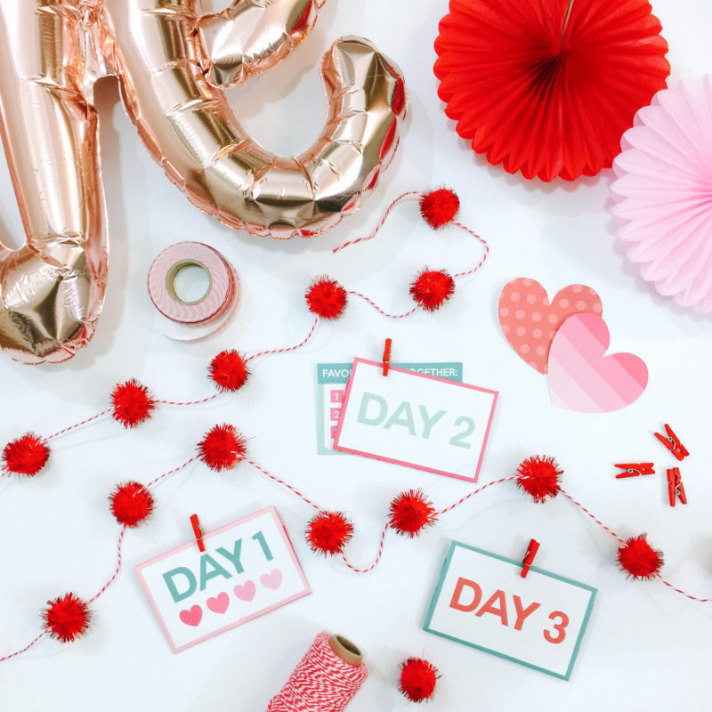 """Love Notes"" Dating Divas Valentine's Day Printables: 14 Days of Love Challenge"