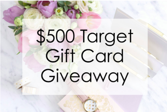 $500 Target Gift Card Giveaway with Top Fashion Bloggers
