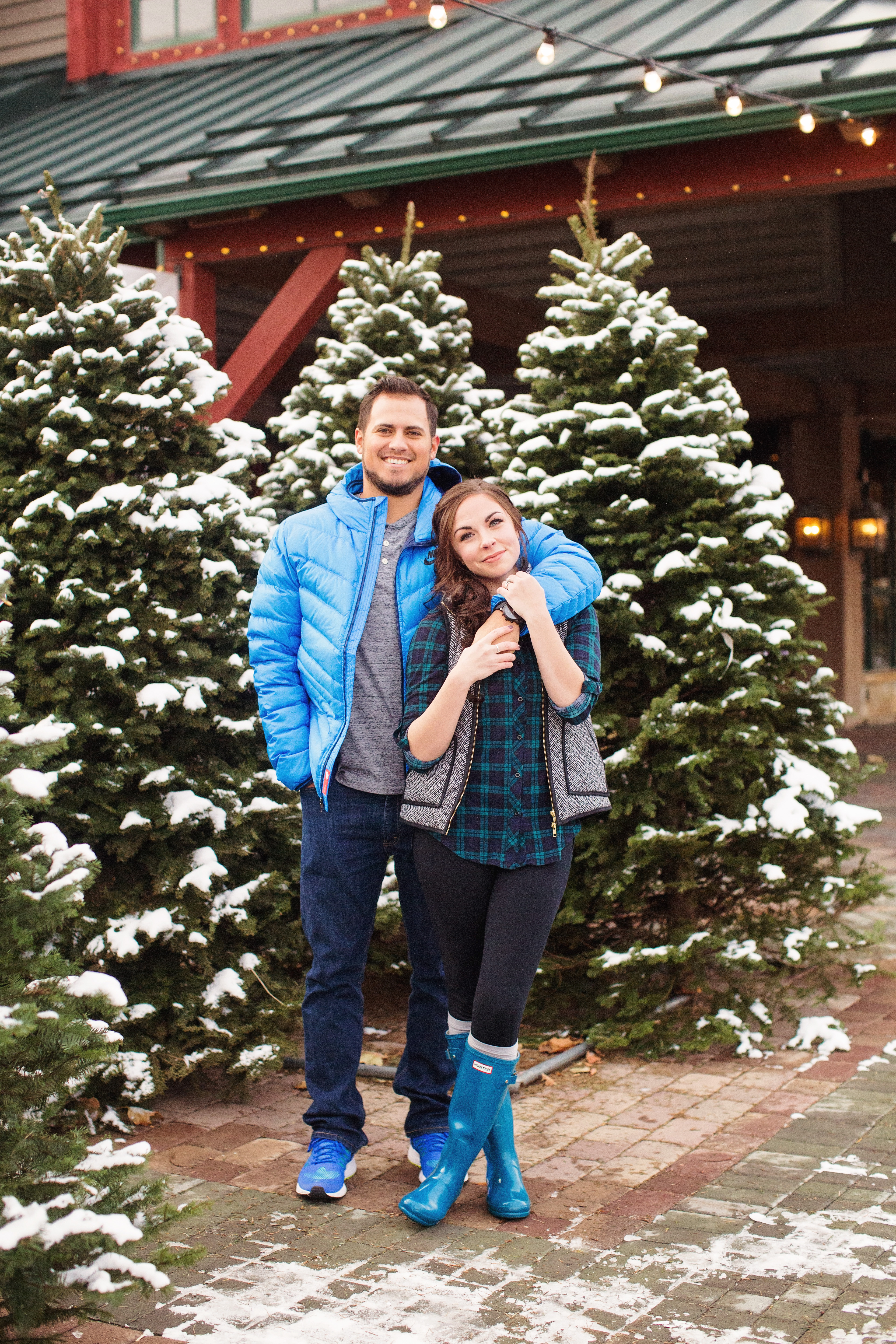 """""""Baby it's Cold Outside"""" - Couples Christmas Pictures at a ..."""